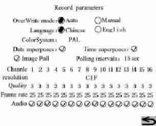 Kayıt Parametre Ayarları
