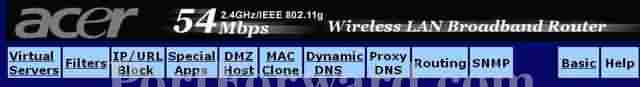 adsl modem ayarları