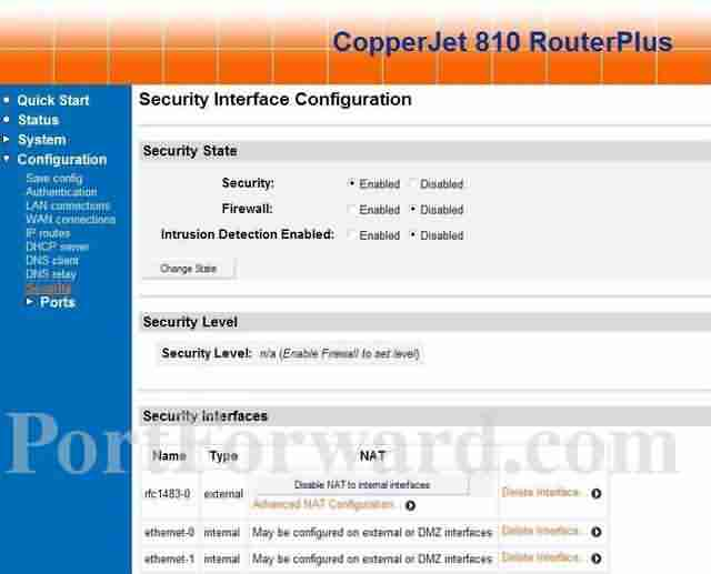 Allied Data CopperJet-810 Adsl Modem