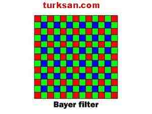 renk filtre dizisi