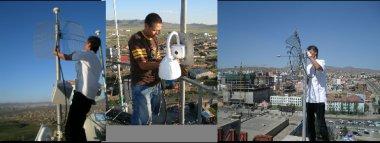 Kablosuz speed dome kamera montajı