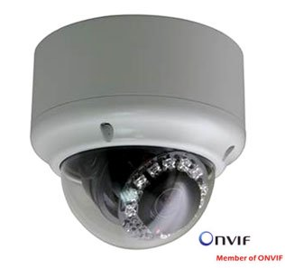 MP-9202 H.264 2 Megapiksel Full HD Vandalproof IR IP Dome Kamera